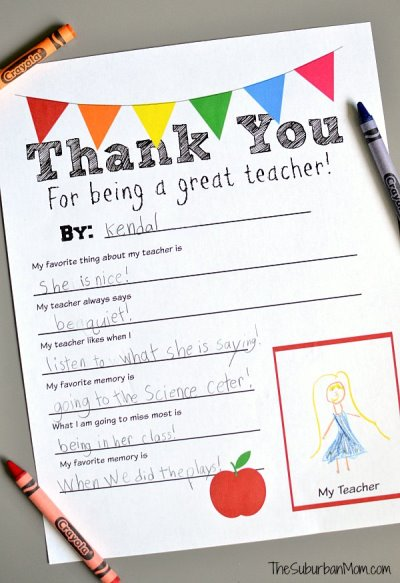 10 Teacher Appreciation Gifts From The Class Pto Today