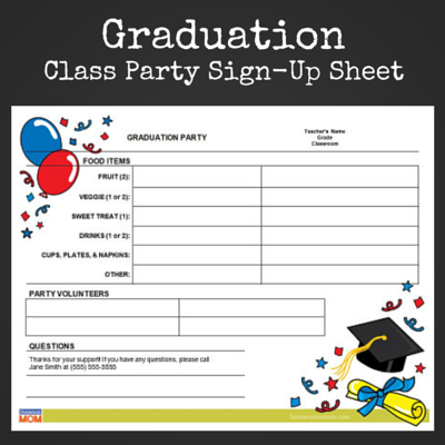 graduation party planning crafts activities pto today