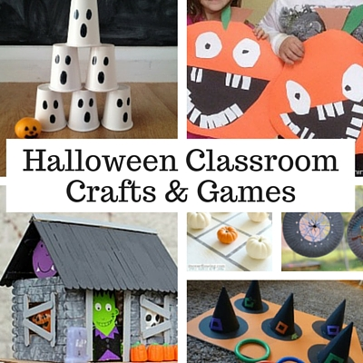 weve rounded up some super simple kid friendly halloween games and crafts that are a good fit for classrooms