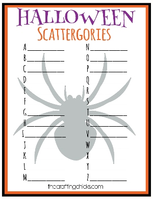 photograph regarding Printable Holloween Crafts titled Halloween Crafts Video games for the Clroom - PTO At present