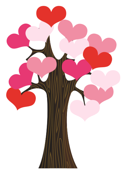 Classroom Door Valentine Heart Tree - PTO Today