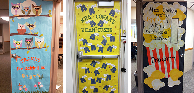 Teacher Appreciation Door Decorating Ideas Tips For Pto