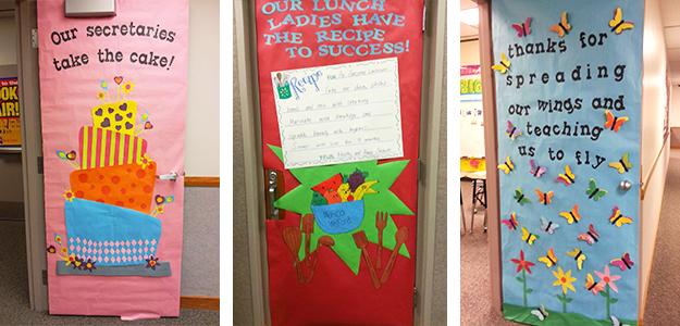 Pin this article! & Teacher Appreciation Door Decorating Ideasu2014Tips for PTO and PTA ...
