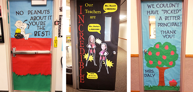 Teacher Appreciation Door Decorating Ideas Tips For Pto And