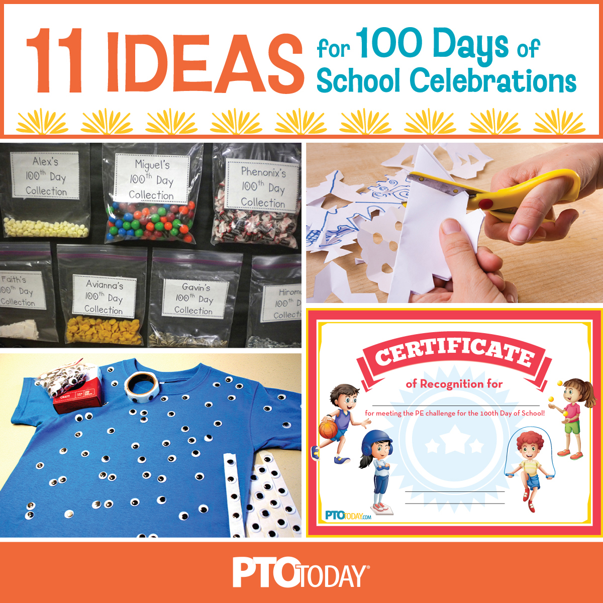 20 Ways To Mark the 20th Day of School   PTO Today