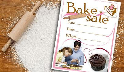 bake sale ideas for school flyers clip art supply lists and more