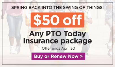 Take $50 off a PTO Today Insurance package. Use the promo code COMEOVER at checkout.