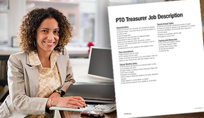 Parent Group Treasurer Job Description