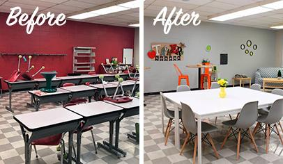 Teachers Lounge Makeover Tips
