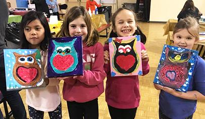 Parent Groups Everywhere Are Planning Cookies And Canvas Other Paint Nights For Kids Learn How The Event Works Read Tips Organizing One At