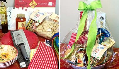 How to make a gift basket instructions for pto pta leaders step by step instructions on making gift baskets for parent group auction events plus clever theme suggestions for auction baskets solutioingenieria Images