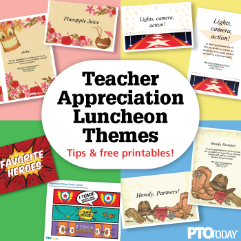 Teacher Appreciation Ideas - PTO Today