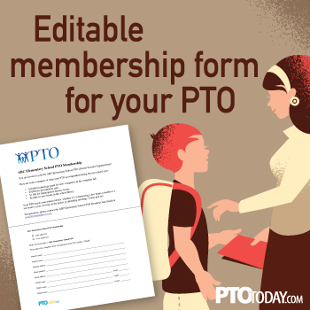 Article pto today for Pta membership card template