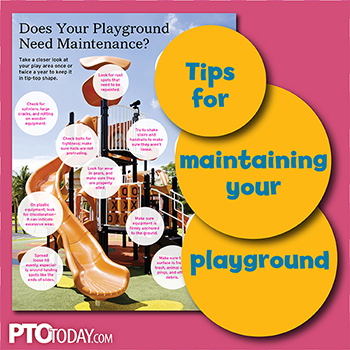 Tips for maintaining your school playground