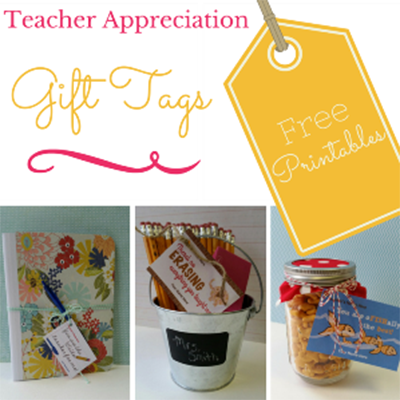 picture regarding Free Printable Teacher Gift Tags called Instructor Appreciation Printable Reward Tags - PTO At present