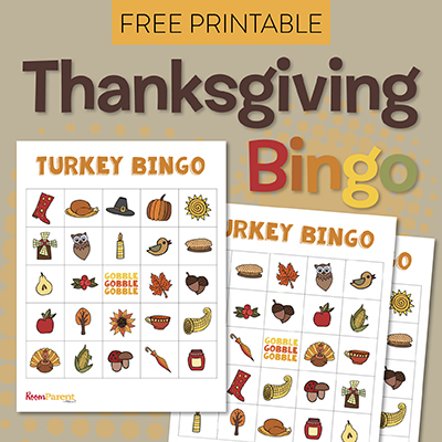 picture about Thanksgiving Bingo Printable identified as Thanksgiving BINGO - PTO Currently