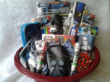 Make a Star Wars-theme gift basket to raffle off as a door prize. & 26 Ways for Your PTO To Rock a Star Wars Family Night - PTO Today