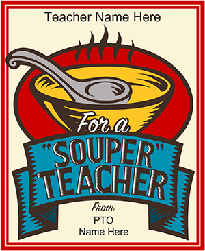 Souper Teacher Gift Tag
