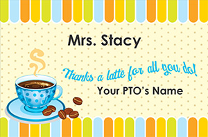 Teacher Appreciation Coffee Tag