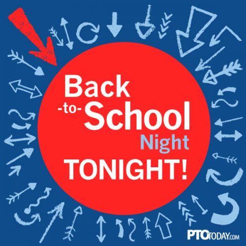 Back-to-School Night Tonight