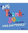 Volunteers - Big Thank-You