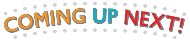 """Coming Up Next"" Logo"