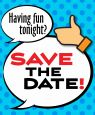 """Save the Date"" Logo"