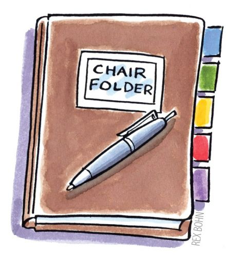 Chairperson Folder