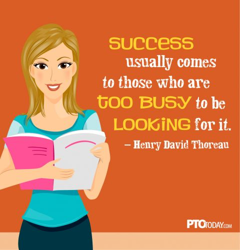 """Success usually comes to those..."""