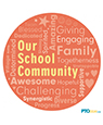 School Community Word Cloud