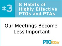 PTO and PTA Meetings
