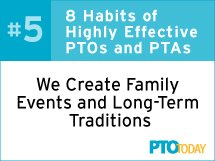 School Family Events and Traditions