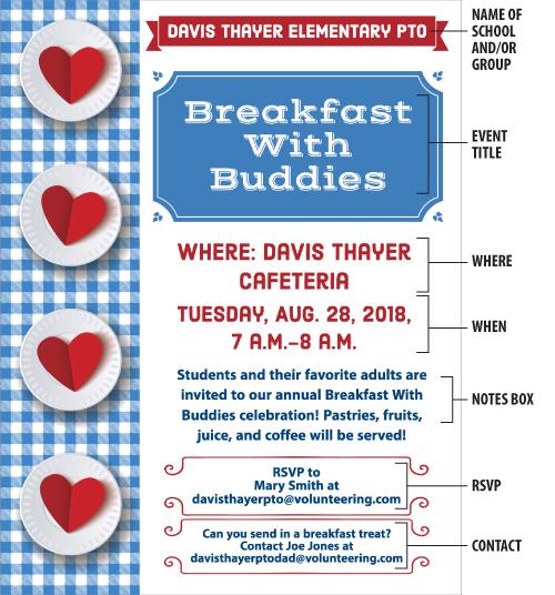 bts breakfast flyer pto today