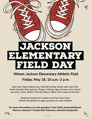 customized field day flyer 1