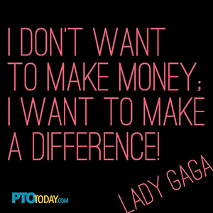 Lady Gaga Make a Difference