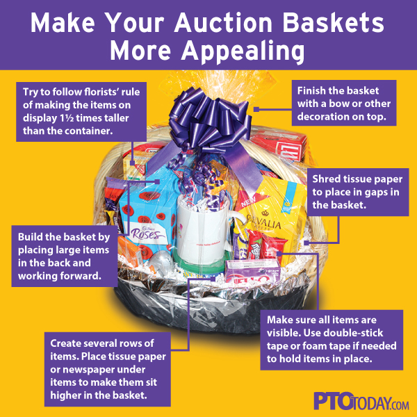 How To Wow Your Community With Beautiful Auction Baskets - PTO Today ...