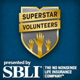 SBLI Superstar Volunteers