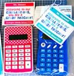 Calculator Tag for Teacher Appreciation