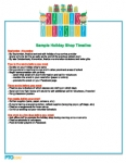 Holiday Shop Sample Timeline: Santa's Workshop