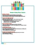 Holiday Shop Sample Timeline: Santa's Workshop