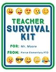 Teacher Mini Survival Kit Labels