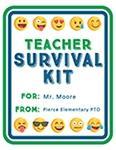 Teacher Mini Survival Kit Labels