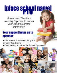 PTO Poster for Display at Events