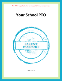 Parent Involvement Passport