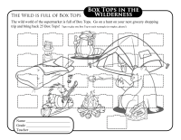 Camping Collection Sheet - 25