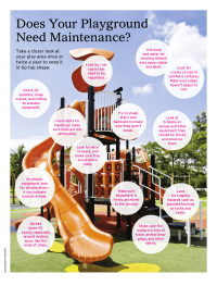 Tips for Maintaining Your Playground