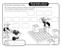 Lego Collection Sheet