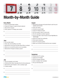 PTO Today: Month-by-Month Guide