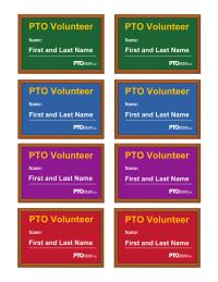 Volunteer Name Badges