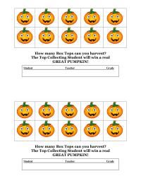 October Pumpkin Collection Half Sheet 10 Each